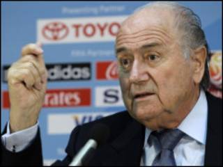 Sepp Blatter, shugaban hukumar FIFA