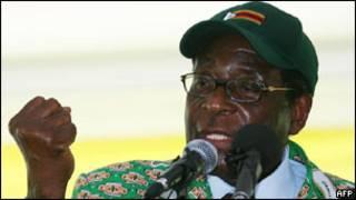 Perezida Robert Mugabe