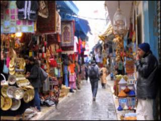 سوق في تونس
