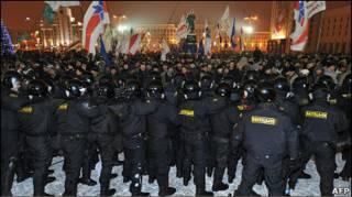 Протест у Мінську