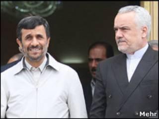 محمدرضا رحیمی و محمود احمدینژاد