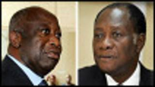 Gbagbo da Ouattara