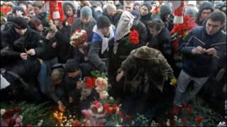 Массовая акция на Манежной площади в Москве 11 декабря 2010 г.