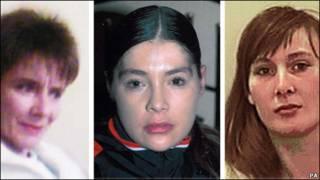 三名受害者