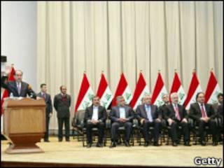 الوزارة العراقية الجديدة