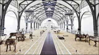Instalação Soma, de Carsten Höller (foto: David von Becker / Hamburger Bahnhof)