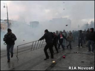 Беспорядки на Манежной площади