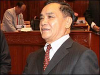 Thủ tướng Lào Thongsin Thammavong
