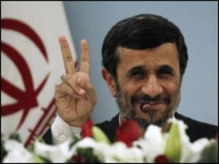 Shugaba Ahmadenajad na Iran