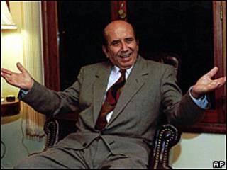 Carlos Andrés Pérez en una imagen de 1996.