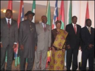 Wasu daga cikin shugabannin kasashen ECOWAS
