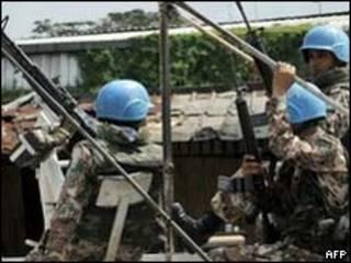 Tropas da ONU na Costa do Marfim