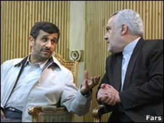 احمدی نژاد و رحیمی