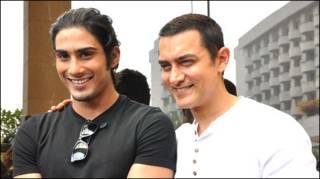 आमिर ख़ान और प्रतीक बब्बर
