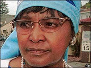 Winnie Madikizela-Mandela (arquivo)