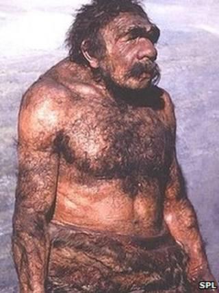 Representação do neandertal (SPL)