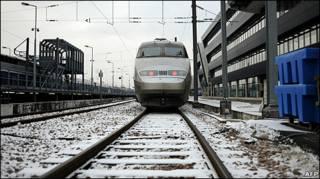 Французский скоростной поезд TGV