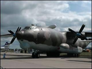 Ан-22 на салоне МАКС в 2009 году