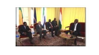 Intumwa za ECOWAS muri Cote d'Ivoire