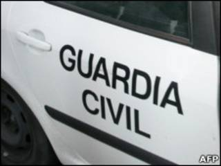 Автомобиль Guardia Civil