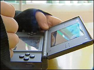 Jogo antigo do Nintendo DS (arquivo BBC)