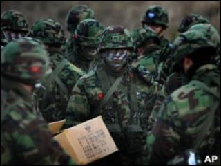 Северокорейские военные