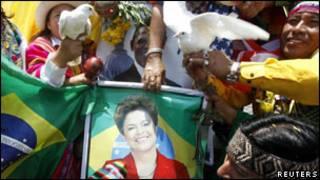 Dilma Rousseff, la nouvelle présidente du Brésil