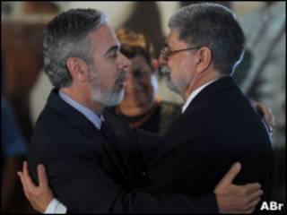 Antonio Patriota e Celso Amorim