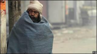 शीतलहर ठंड भारत