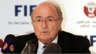 Umukuru wa FIFA Sepp Blatter