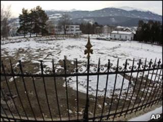 Старое кладбище при больнице в Халле (Австрия)