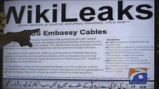 صورة لموقع ويكيليكس