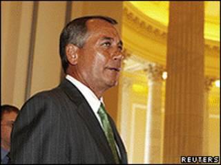 O novo presidente da Câmara dos Representantes, John Boehner (Reuters)