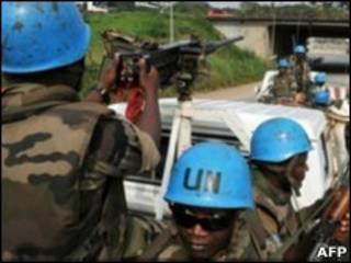قوات حفظ السلام في ساحل العاج