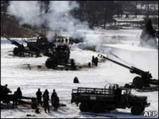 韓國軍事演習