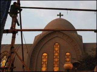 Cocin Coptic a Masar