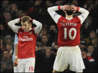 Arsenal ta buga canjaras da Man City