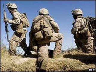 Soldados americanos no Afeganistão (arquivo)