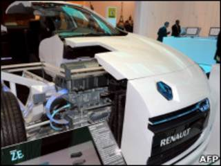 Электромобиль Renault Fluence ZE