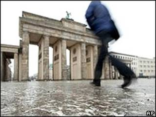 Ледяной дождь в Берлине