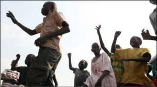 أطفال في جوبا