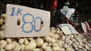 कोलंबो का सब्ज़ी बाज़ार