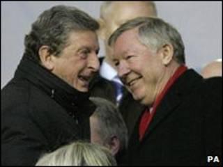 Hodgson (kushoto) na Ferguson