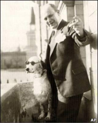 Джеки с хозяином Тором Боргом