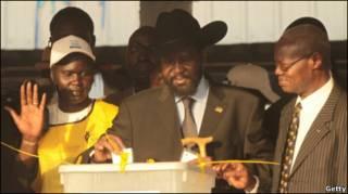 سالوا کییر، رهبر جنوب سودان