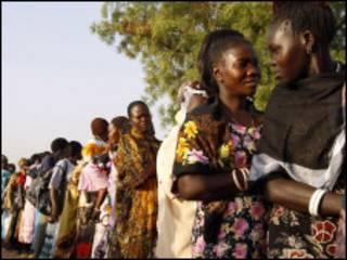 Masu kada kuru'a a kudancin Sudan
