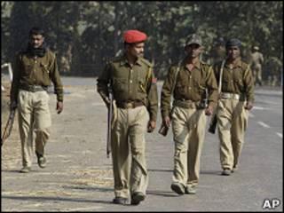 Полицейские в Индии
