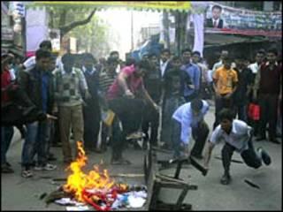 درگیری در داکا