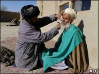 Бородатый мусульманин