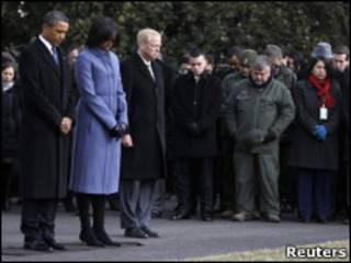 Shugaba Obama da Maidakinsa Michelle